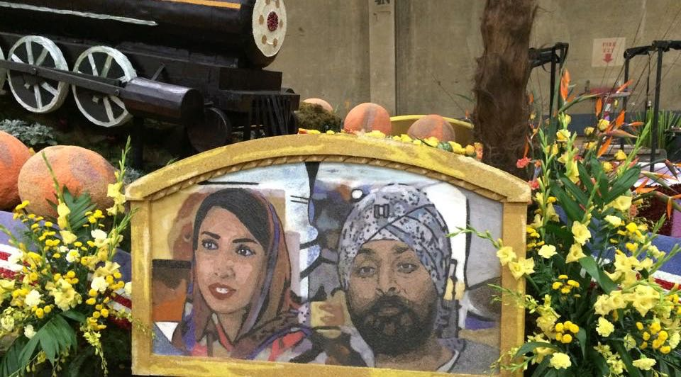 Valarie Kaur and Kamal Kalsi on Float