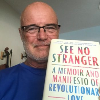 Brian McLaren with See No Stranger book